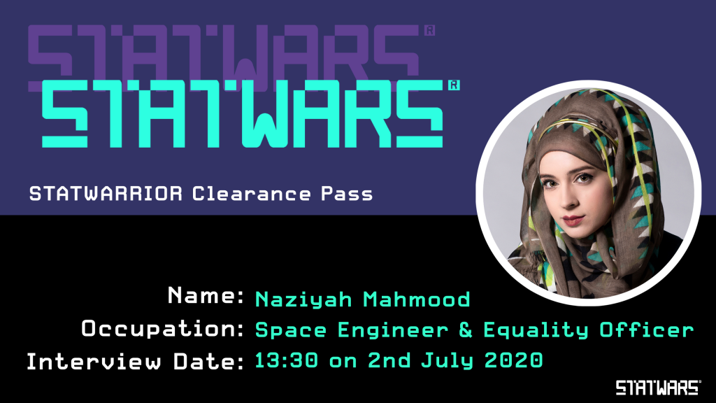 Naziyah Mahmood - Gender Equality Officer