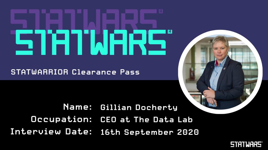 Gillian Gillian Docherty - CEO at The Data Lab
